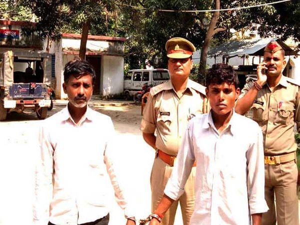 या दोघांनी महिलेवर बलात्कार करून प्रायव्हेट पार्टमध्ये अॅसिड टाकले. - Divya Marathi