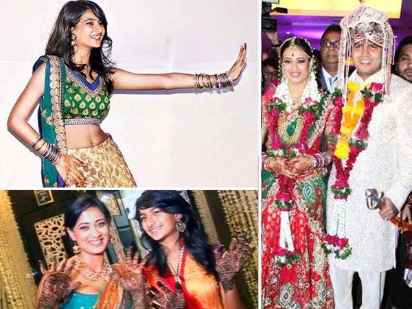 अभिनव कोहली आणि श्वेता यांच्या लग्नात डान्स करणारी पलक. - Divya Marathi