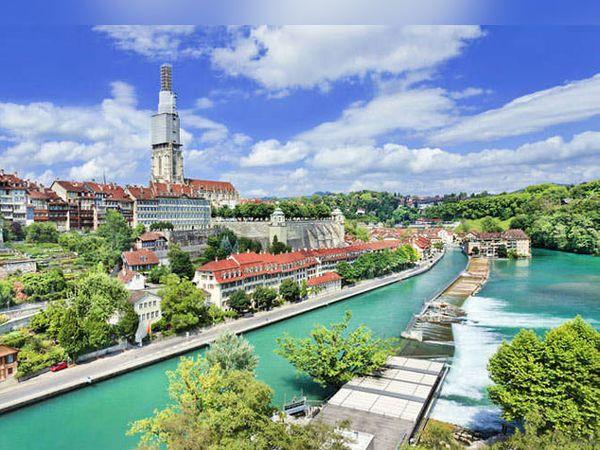 स्वित्झर्लंडची राजधानी बर्नचे फोटो - Divya Marathi
