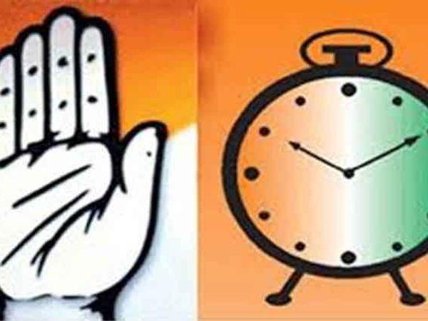 गुजरातमध्ये काँग्रेस आणि राष्ट्रवादी पक्षात आघाडी होणार नाही. - Divya Marathi