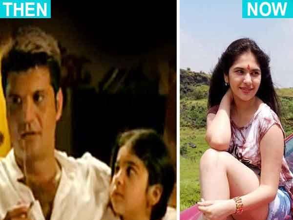 No Smoking Ad मध्ये 7 वर्षाची सिमरन (डावीकडे) आणि आता अशी दिसते सिमरन नाटेकर (उजवीकडे)... - Divya Marathi