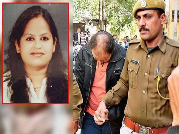 रुचिता (फाइल फोटो) आणि आरोपी दिव्य. - Divya Marathi