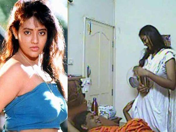 रंजीता स्वामी नित्यानंदसोबतच्या कथित सेक्स व्हिडिओमध्ये. - Divya Marathi