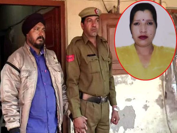 पोलिसांच्या ताब्यात आरोपी पती विक्रम सिंह - Divya Marathi