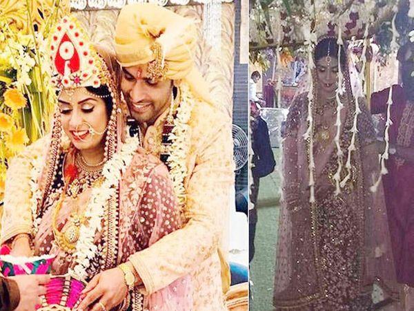 टीव्ही अभिनेता नमन शॉ गर्लफ्रेंड नेहा मिश्रासोबत विवाहबद्ध झाला. - Divya Marathi