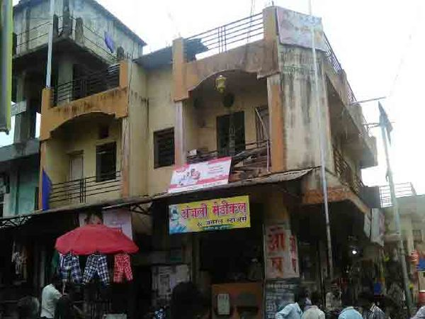 किनगाव ग्रामपंचायत कार्यालय. - Divya Marathi