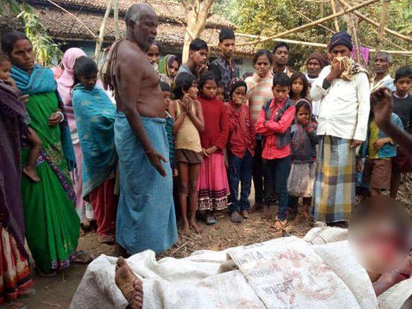 दिराच्या मदतीने महिलेने पतीचा गळा चिरून निर्घृण खून केला. - Divya Marathi