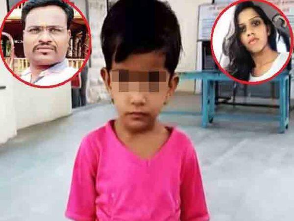 खूनाच्या वेळी ही 3 वर्षाची चिमुकली सर्वकाही पाहत होती नंतर तिच्या वडिलांनी आत्महत्या केली. - Divya Marathi
