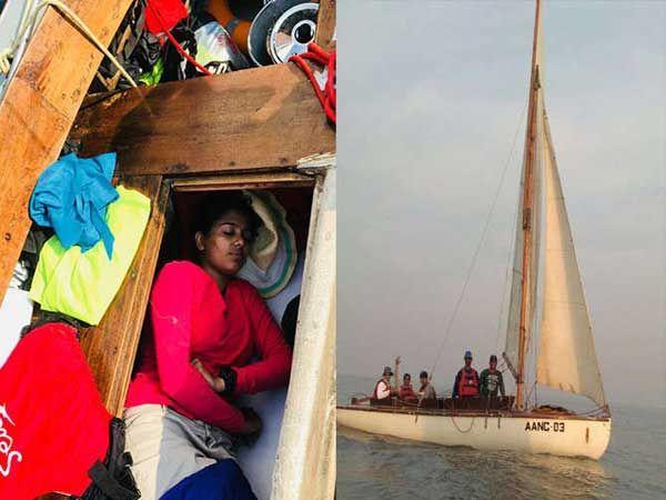 चक्रीवादळामुळे खवळलेल्या समुद्राच्या दहा तास लाटा झेलत नेव्हीच्या जवानांनी नैसर्गिक आपत्तीवर मात केली. - Divya Marathi