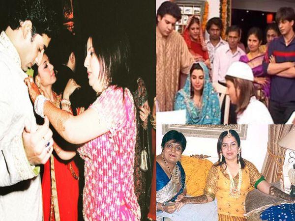 फराह खानच्या संगीत आणि लग्नाचे फोटो - Divya Marathi