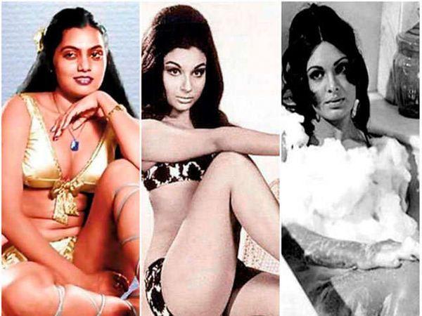 सिल्क स्मिता, शर्मिला टागोर आणि परवीन बाबी. - Divya Marathi