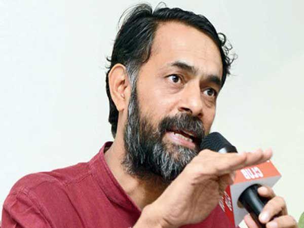 गुजरातमध्ये भाजपचा पराभव अटळ असल्याचे योगेंद्र यादवांनी म्हटले आहे. - Divya Marathi