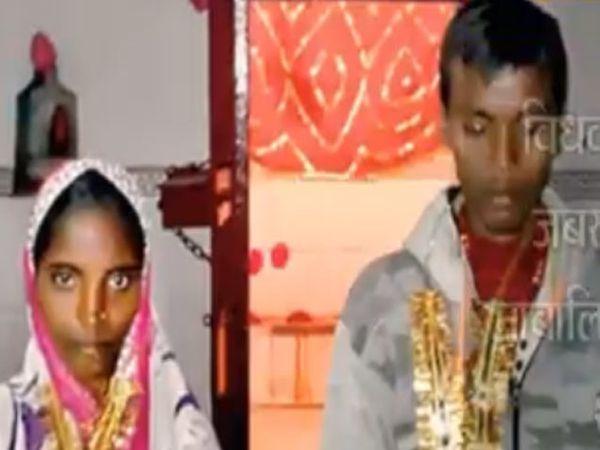 मृत शिवधनचा भावजयीसोबत लग्नातील फोटो... - Divya Marathi