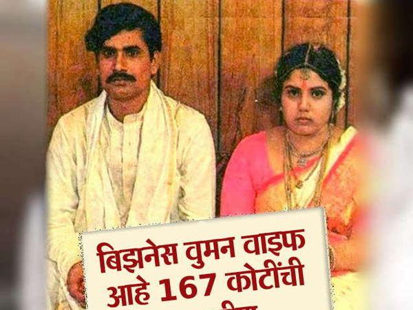 आंध्रप्रदेशचे मुख्यमंत्री चंद्राबाबू नायडू त्यांच्या पत्नीसह. - Divya Marathi