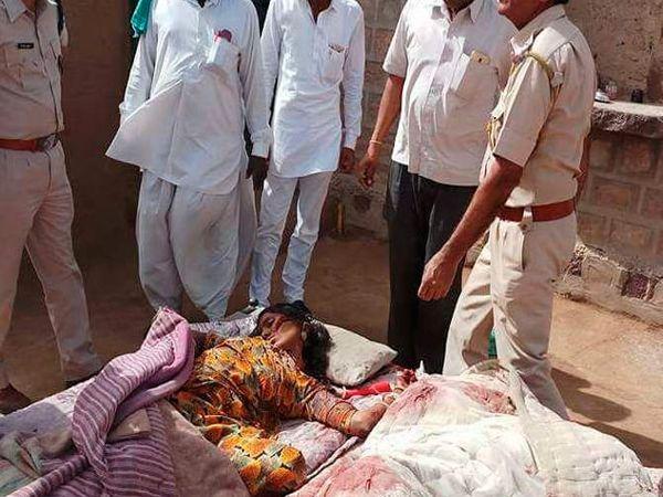 राजस्थानमधील पोखरणमध्ये एकाच कुटुंबात तीन जणांचा खून. - Divya Marathi