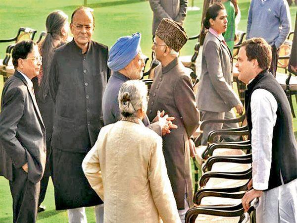 काही दिवसांपूर्वी सरन्यायाधीश व राहुल गांधी आमने-सामने आले होते. - Divya Marathi