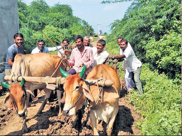 गाडगेबाबांचे जन्मस्थळ शेंडगावच्या ग्रामस्थांचा निवडणुकीवर बहिष्कार - Divya Marathi