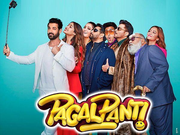 'पागलपंती' हा चित्रपट 22 नोव्हेंबर रोजी प्रदर्शित होणार असून अनिल कपूर, जॉन अब्राहम, अर्शद वारसी, इलियाना डिक्रूज यांच्या महत्त्वाच्या भूमिकात यात आहेत. अनिस बज्मी या चित्रपटाचे दिग्दर्शक आहेत. - Divya Marathi