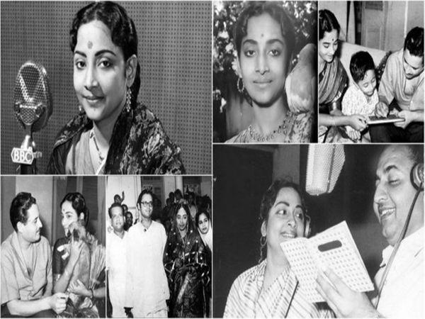 आपल्या मुलायम आवाजाने हिंदी तसेच, बंगाली चित्रपटसृष्टीत वेगळेच स्थान निर्माण करणारी गायिका म्हणजे गीता दत्त. 23 नोव्हेंबर 1930 रोजी बांगलादेशाच्या बेजनिपुरा गावात जन्मलेल्या गीता दत्त यांची आज 89 वी जयंती आहे. त्यांनी आपल्या छोट्याशा फिल्मी करिअरमध्ये प्रत्येक प्रकारची गाणी गायली आणि सर्वच हिट ठरली. 26 मे 1953 रोजी प्रसिद्ध अभिनेते गुरुदत्त यांच्यासोबत लग्नानंतर गीता रॉय या गीता दत्त झाल्या. 20 जुलै 1973 रोजी त्यांनी या जगाचा कायमचा निरोप घेतला. - Divya Marathi