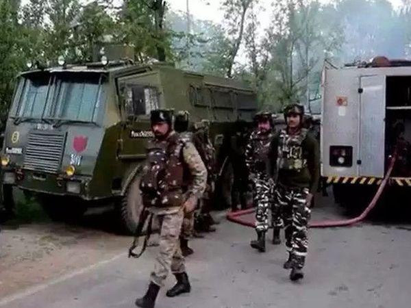 काही दिवसांपासून दहशतवादी कारवायांमध्ये वाढ - फाइल फोटो - Divya Marathi