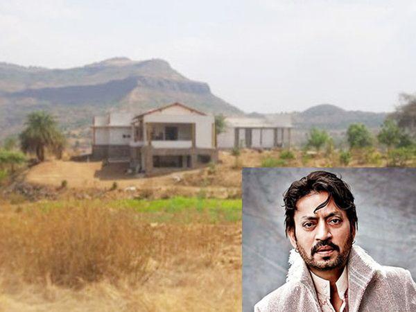 पत्राचा वाडा या गावात दिवंगत अभिनेता इरफान खान यांचे फार्म हाऊस आहे - Divya Marathi