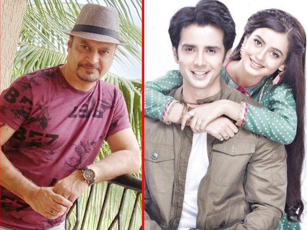 'हमारी बहू सिल्क' या मालिकेचे निर्माते ज्योती गुप्ता आणि लीड कलाकार जान खान- चाहत पांडे. - Divya Marathi