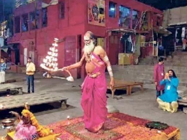 गंगा दशहरानिमित्त यंदा भाविकांची तुरळक उपस्थिती. - Divya Marathi