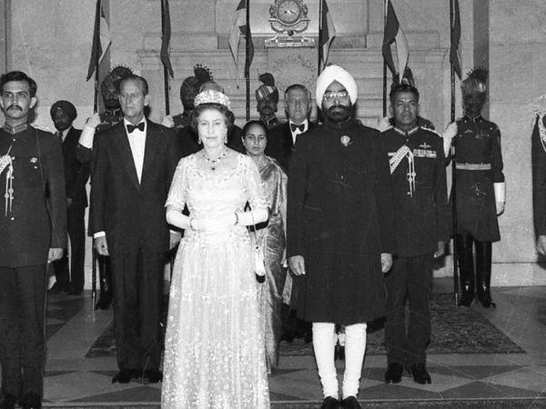 7 नोव्हेंबर 1983 रोजी तत्कालीन राष्ट्रपती ज्ञानी झेल सिंह यांनी ब्रिटीश राजघराण्याच्या सन्मानार्थ राष्ट्रपती भवनात सोहळ्याचे आयोजन केले होते.