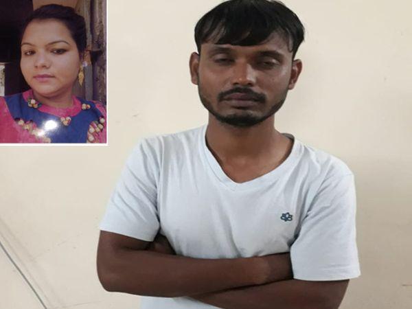 મૃતક યુવતી અને આરોપી ઈમરાન - Divya Bhaskar
