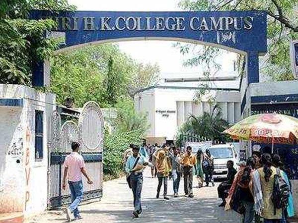એચકે આર્ટસ કોલેજની ફાઈલ તસવીર - Divya Bhaskar
