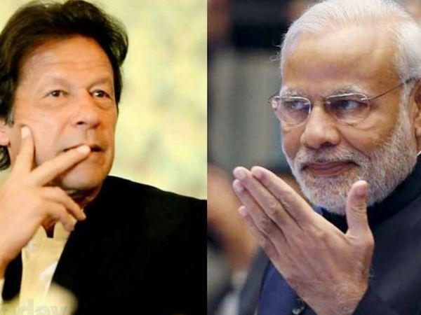 ઈમરાનખાન અને PM મોદીની ફાઈલ તસવીર - Divya Bhaskar