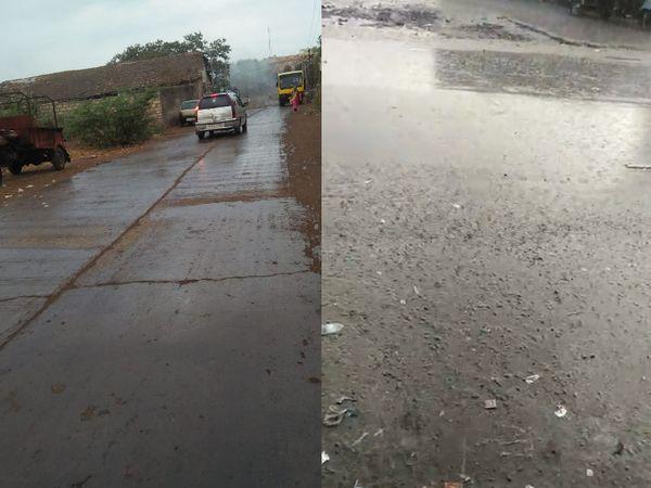 જાફરાબાદમાં ઝરમર જ્યારે વેરાવળમાં ધોધમાર વરસાદ વરસ્યો - Divya Bhaskar