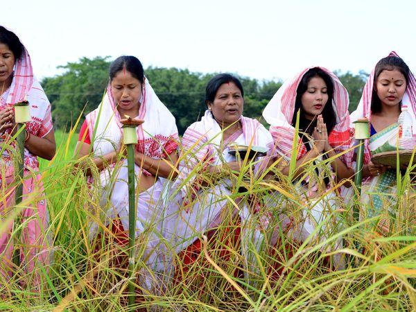 15 એપ્રિલે આસામમાં ધામધુમપુર્વક બિહુ પર્વની ઉજવણી કરવામાં આવી હતી - Divya Bhaskar