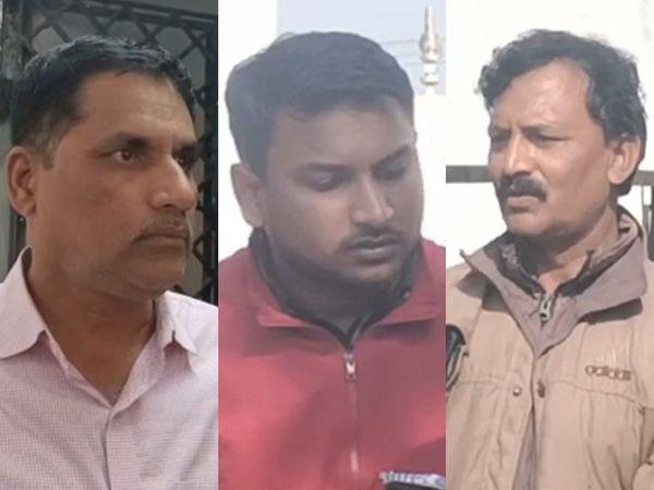 બ્લાસ્ટ કેસમાં પકડાયેલા આરોપીઓ - Divya Bhaskar