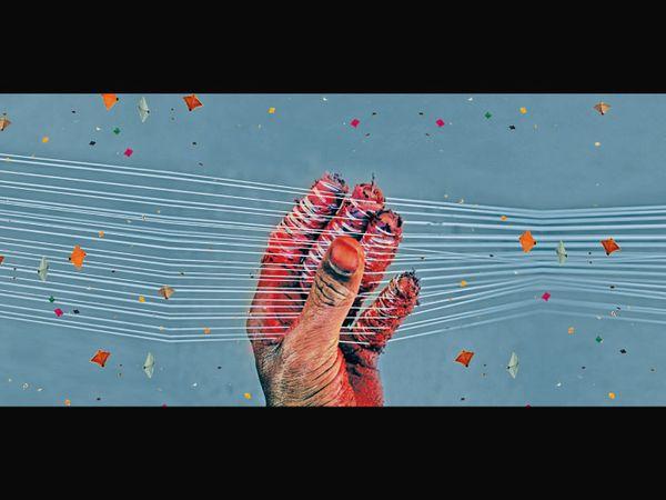 ભાસ્કર અપીલ - પતંગો ભલે  ગળે મળે, લોકોનાં ગળાં ના કાપે... - Divya Bhaskar