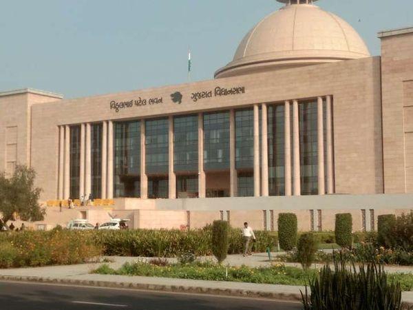 ગુજરાત વિધાનસભાની ફાઇલ તસવીર. - Divya Bhaskar