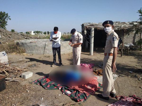 મધરાતે અજાણ્યા શખ્સઓએ દંપતીની હત્યા કરી ફરાર થઈ ગયા હતા - Divya Bhaskar