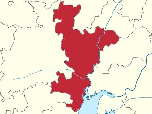 અમદાવાદ જિલ્લાનો નકશો - Divya Bhaskar