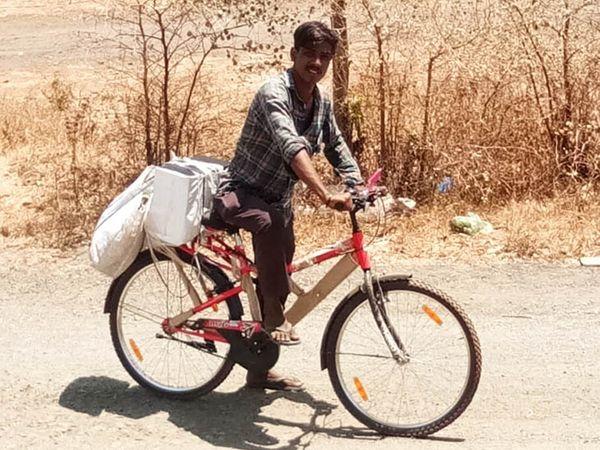 ઘણા મજૂરોએ ઘરે જવા માટે નવી સાઇકલ ખરીદી છે