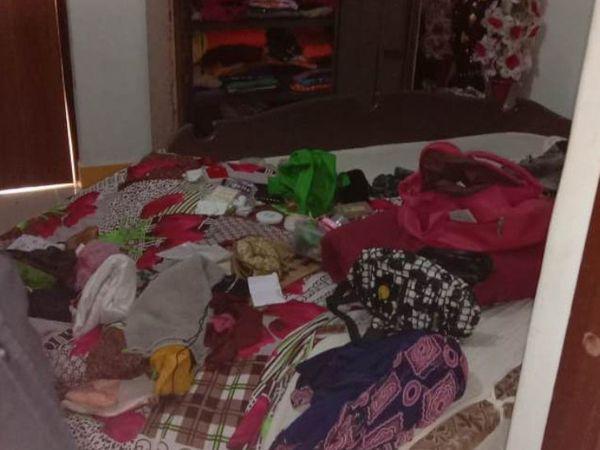 લોકડાઉનમાં પતિ વતન યુપીમાં અને મહિલા પિયર ગયા બાદ દાગીના રોકડની ચોરી - Divya Bhaskar