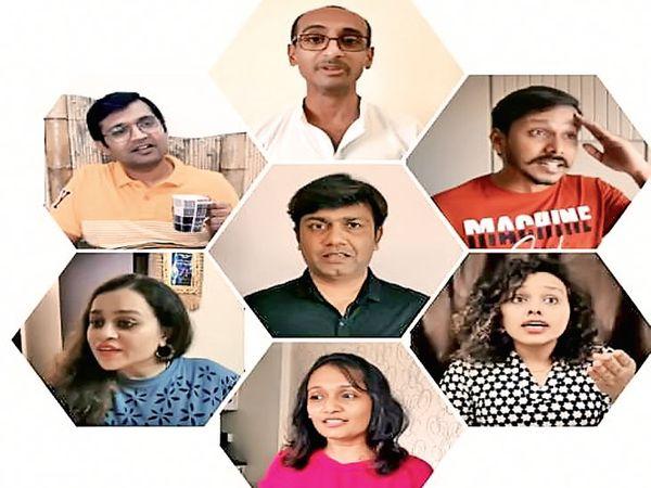 કલાકારો - Divya Bhaskar