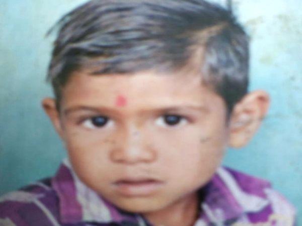 મૃતક બાળક રાજેશ રાજુભાઈ રાઠવાની ફાઇલ તસવીર - Divya Bhaskar