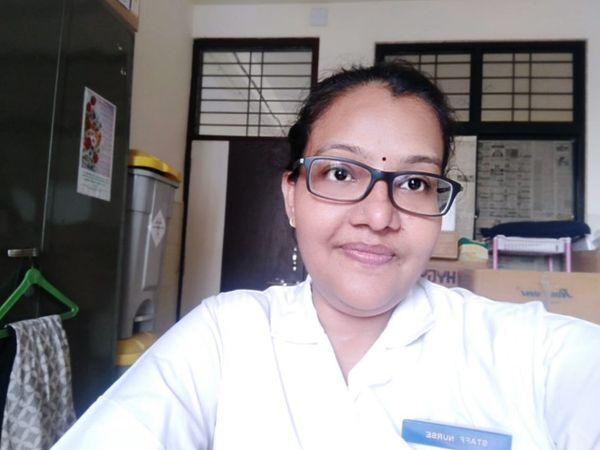સાજીદાબાનું હાલ કોવીડ -19 હોસ્પિટલમાં પોતાની ફરજ બજાવી રહ્યા છે - Divya Bhaskar