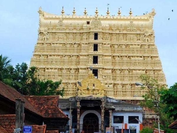 પદ્મનાભ મંદિરની ફાઇલ તસવીર. - Divya Bhaskar