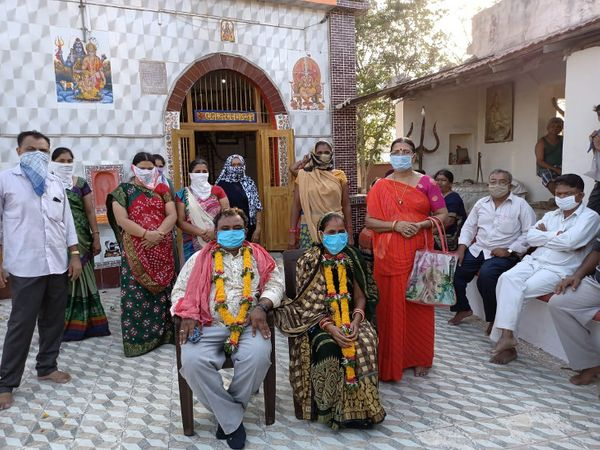 વિધવા મહિલાના પુર્નવિવાહ થયા - Divya Bhaskar