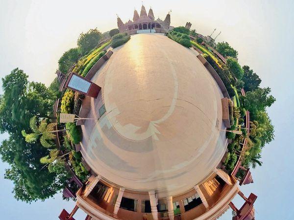 સૌરાષ્ટ્ર સમાચારના માધ્યમથી લોકડાઉનમાં શહેર દર્શનઅક્ષરવાડી - Divya Bhaskar