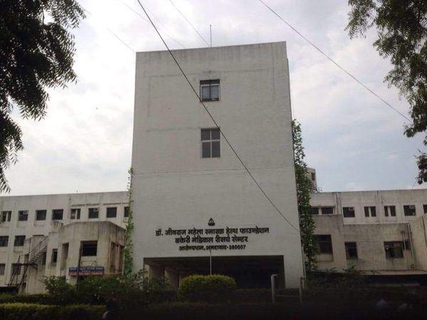 જીવરાજ મહેતા હૉસ્પિટલની ફાઇલ તસવીર. - Divya Bhaskar