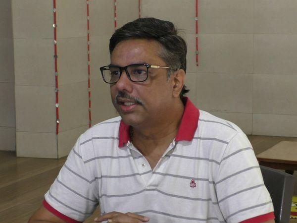 ગુજરાત સ્વનિર્ભર શાળા સંચાલક મંડળના ઉપપ્રમુખ જતીન ભરાડે મીડિયા સાથે વાતચીત કરી હતી - Divya Bhaskar