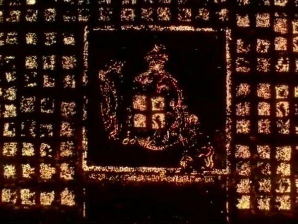 અયોધ્યામાં સરયૂની નજીક રામની પૈડી પર દીપોત્સવની શરૂઆત. - Divya Bhaskar