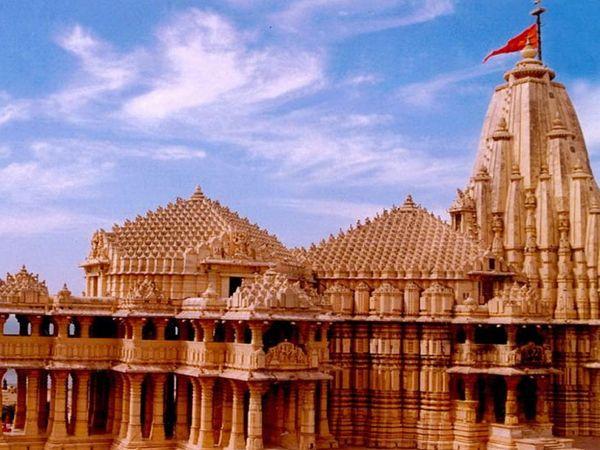 સોમનાથ મંદિર ની ફાઈલ તસવીર - Divya Bhaskar